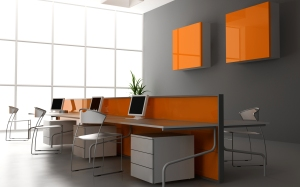 orange-office-room-interior-design-wallpaper